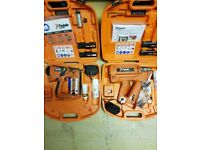 Paslode first fix and second fix nail guns in mint condition (must be seen)