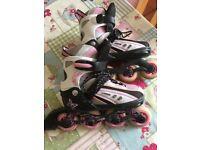 Girls Inline Roller Skates
