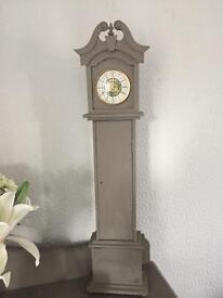 Grandmother shabby chic clock