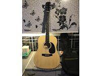 Fender squier acoustic guitar £50 cash
