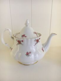Vintage Richmond Rose Time Bone China Teapot