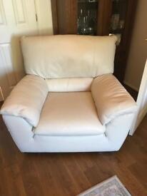 Dansk leather armchair