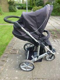 Britax Vigour 3+ pushchair / stroller (black)
