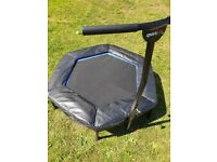 SportPlus Fitness Trampoline / Rebounder with height adjustable & remo
