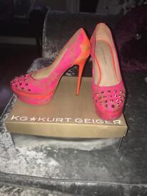 Kurt Geiger size 6 ladies heels
