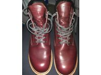 Red Wings Beckman in Black Cherry Size 8 1/2. Very good condition