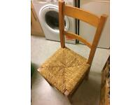 Single Wooden Chair, looking For Love