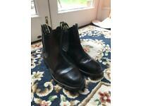 Black Jodhpur Boots Child Size 3