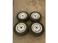 Tyres And Steel Wheels 4X100