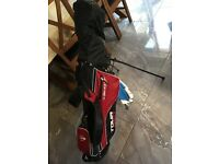 Never used! Full set of Dunlop Tour Red Golf Clubs, plus balls and glove. All NEW