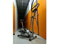 Magnetic Cycle-Elliptical Trainer 2-in-1