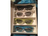 For sale 4 new 3 D glasses
