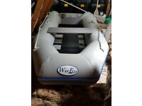 inflatable Boat for sell in go order it is a WavEco and it is a slated floor