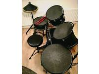 Drums with pads