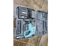 Erbauer 24v cordless battery hammer drill