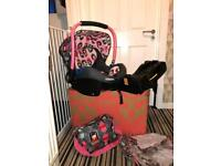 Cosatto port car seat and isofix