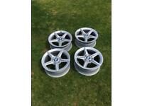BMW 1 series 16 inch alloys wheels