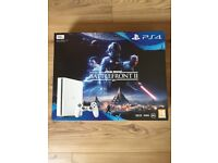 PS4 500gb Starwars Battlefront 2 edition console.