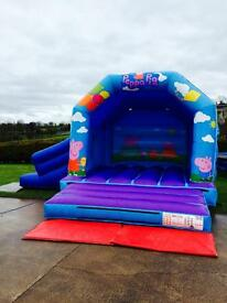 Peppa Pig bouncy castle. 1 year old. PERFECT CONDITION. New business opportunity