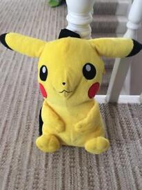 Pokemon Pikachu 3D Plush Backpack