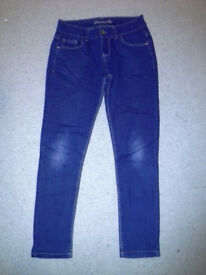 Girls jeans age 11-12 years/height 152cm