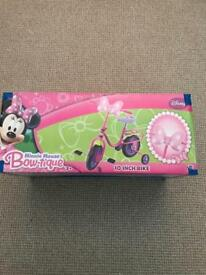 Minnie Mouse 10inch bike