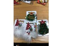 Christmas decorations £1 each