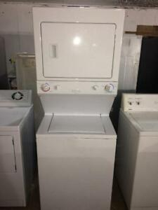 Frigidaire Heavy Duty Stacked Washer/Dryer, Free Warranty, Cheap Delivery