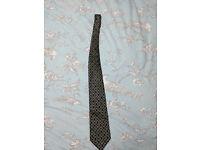 Three new men's silk ties