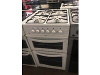 50CM WHITE NEWWORLD GAS COOKER