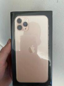 Brand new iPhone 11 Pro Max gold 64gb Vodafone