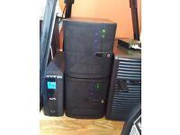 FreeNAS NAS Server 16GB ECC RAM 4 x 1TB Western Digital Red Supermicro Mini ITX Case ASRock board