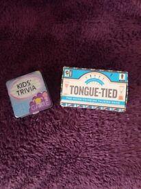 2 pocket size/travel games