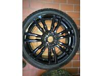 19 inch black bmw alloys 3 4 series msport