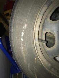 Steel wheel 4x100pcd