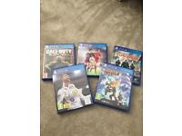 PS4 Games FIFA 18 plus 4 others