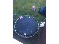 8ft trampoline free