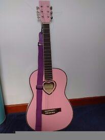 Pink Candy Box Guitar