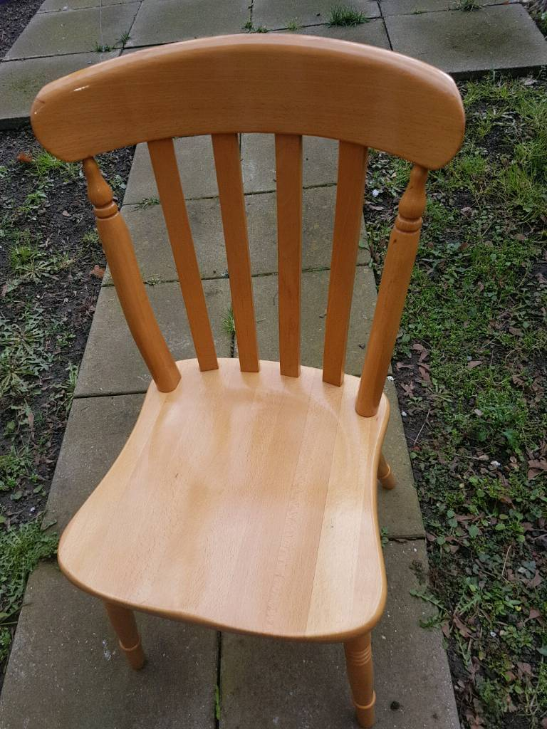 Wooden Chair (Each £15)