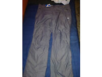waterproof shell trousers and two pairs mountain snowwaterproof trousers no fear coat