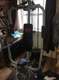 Pro power multi gym and weights