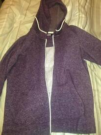 Women's purple hoodie NEXT size 8