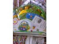baby play gym - mat boy / girl - as new