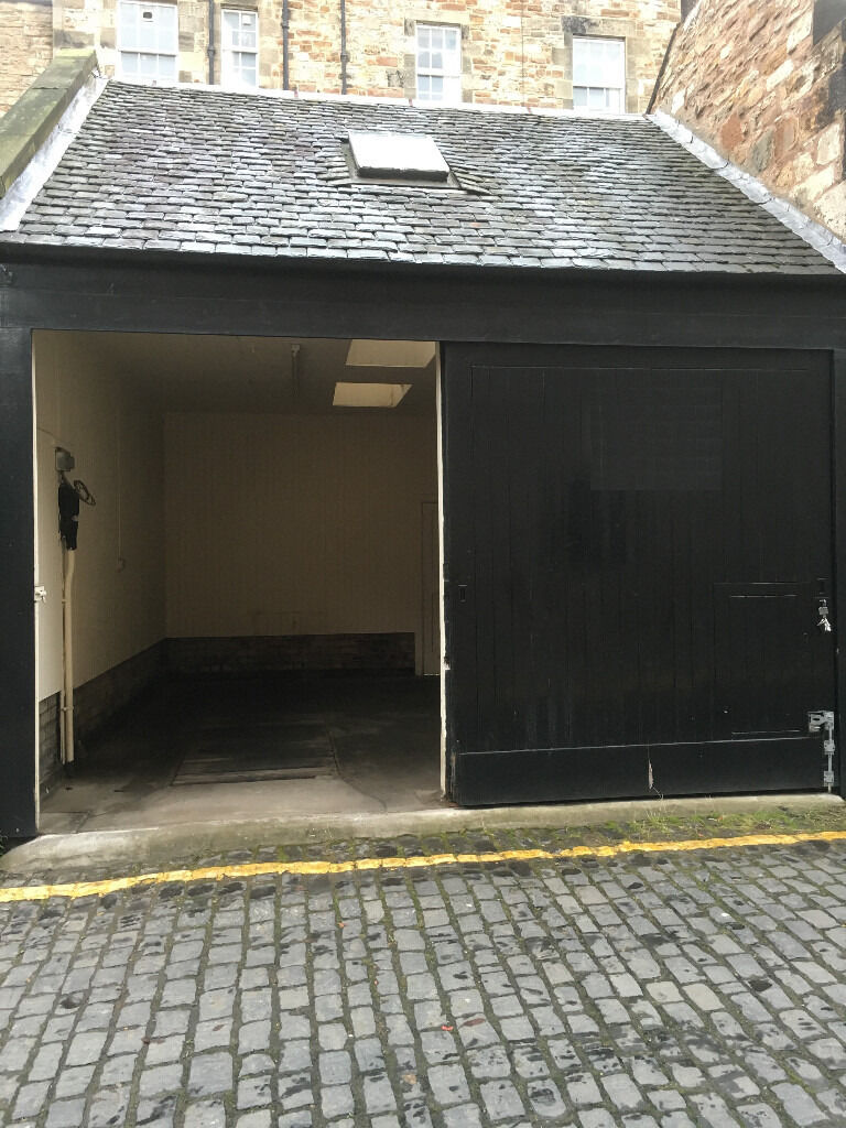 Large Double Garage For Rent In Edinburgh City Centre In Haymarket