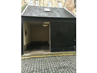 Large Double Garage for rent in Edinburgh City Centre