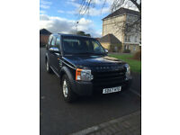 Landrover discovery 3 gs 7 seater ,2007 on a 57 santorini black with charcoal trim FSH one owner