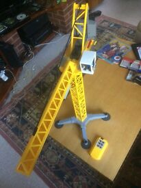 Playmobil 5466 City Action Large Construction Crane with Infra-Red Remote Control