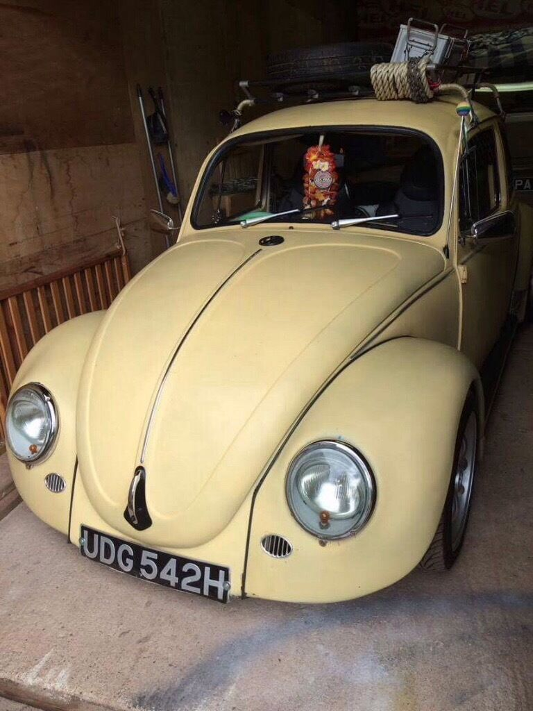 vw classic beetle 60 s flatscreen for sale in torquay devon gumtree. Black Bedroom Furniture Sets. Home Design Ideas