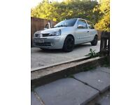 Renault Clio low mileage cheap