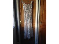 Sequin dress from Quiz